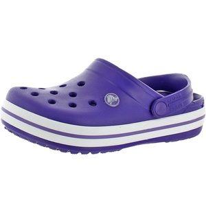 Crocs Unisex Kids Crocband Croslite Clog Purple